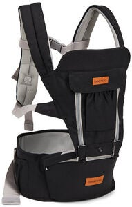 Beemoo Carry Comfort Adjust Babytrage, Black