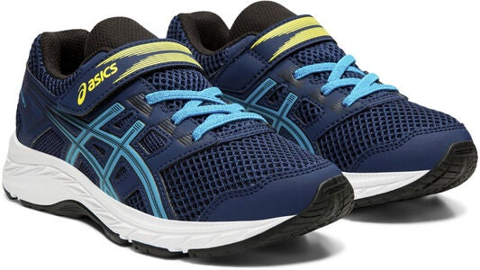 Asics Contend 5 PS Sneaker, Blue Expanse/Island Blue