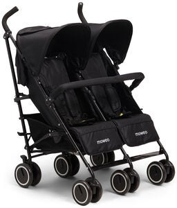 Moweo Civi Twin Reisebuggy, Black
