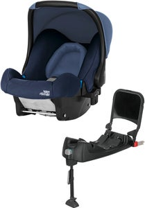 Britax Baby-Safe Babyschale inkl. Basisstation, Moonlight Blue