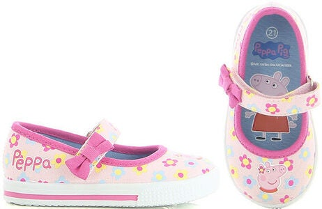 Peppa Wutz Ballerinas, Light Pink/Fuxia