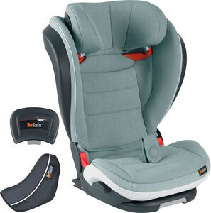 BeSafe iZi Flex Fix i-Size Kindersitz, Sea Green Mèlange
