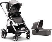 Beemoo Twin Travel+ 2019 Kombiwagen, Dark Grey
