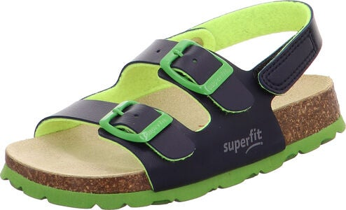 Superfit Fußbett Pantoffel, Blue