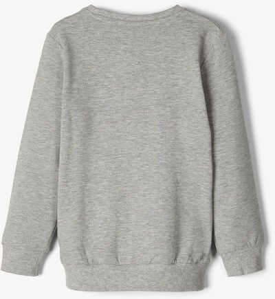 Name it Peppa Wutz Pullover, Grey Melange