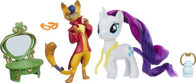 My Little Pony Figuren Rarity/Capper Dapperpaws
