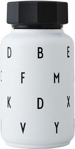 Design Letters Thermosflasche Kids, White
