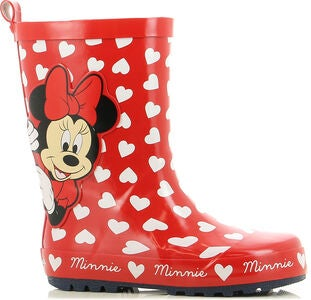 Disney Minnie Maus Gummistiefel, Red