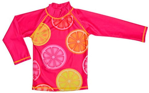 Swimpy UV-Shirt Pink Lemon UPF 50+, Orange