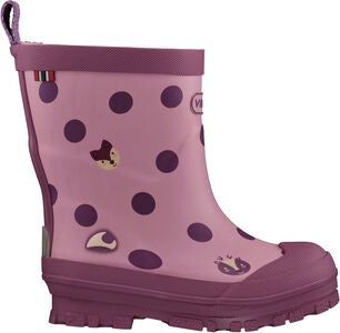 Viking Hidden Animals Gummistiefel, Pink
