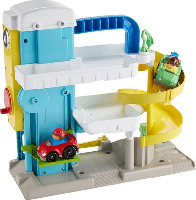 Fisher-Price Little People Parkgarage The Helpful Neighbor's