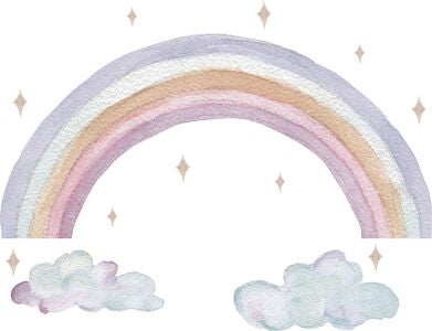That's Mine Wallsticker Fairy Rainbow