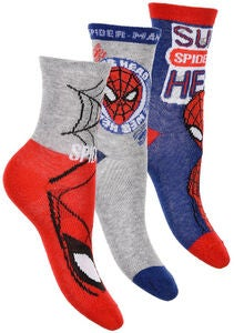 Marvel Spider-Man Strümpfe 3er-Pack,