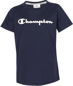 Champion Kids Crewneck T-Shirt, Sky Captain
