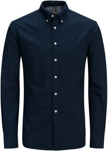 Jack & Jones Oxford Hemd, Navy Blazer