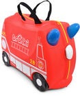 Trunki Frank the Firetruck Koffer 18L, Red