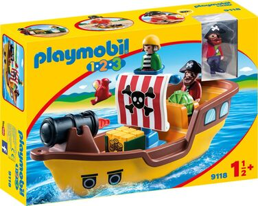 9118 Playmobil Piratenschiff