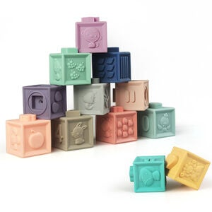 Baby To Love Spielklötze My First Learning Cubes