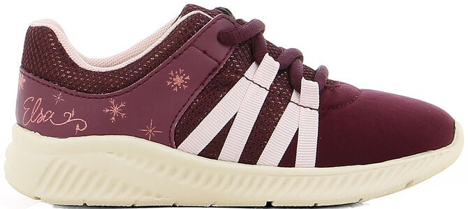 Disney Die Eiskönigin Sneakers, Burgundy
