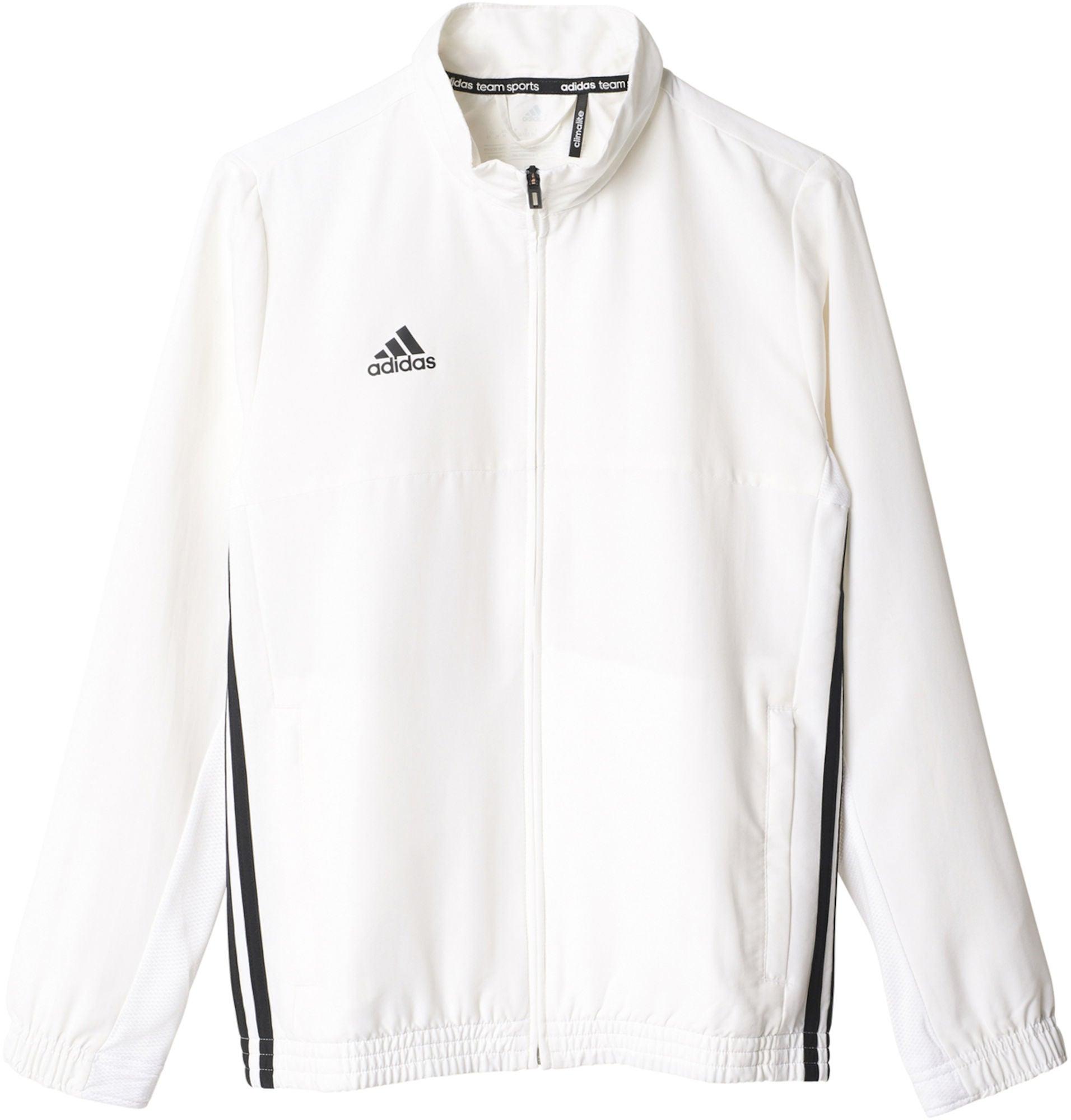 Kaufen Adidas T16 Team Jacket Y Trainingsjacke, White