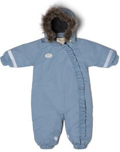 Petite Chérie Atelier Abella Overall, Dusty Blue
