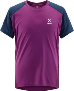 Haglöfs Tech T-Shirt, Lilac/Tarn Blue