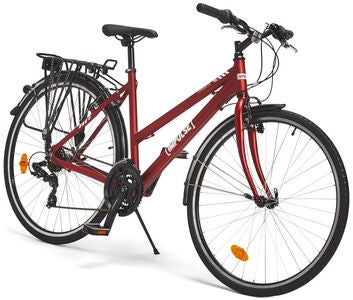 Impulse Premium Commute Fahrrad 28 Zoll, Red
