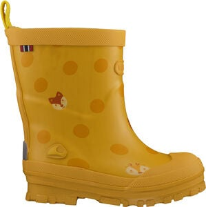 Viking Hidden Animals Gummistiefel, Yellow