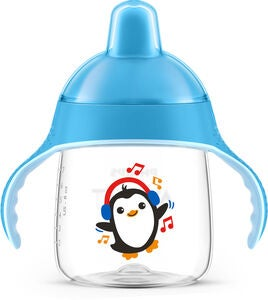 Philips Avent Schnabeltasse Pinguin 260ml, Blau