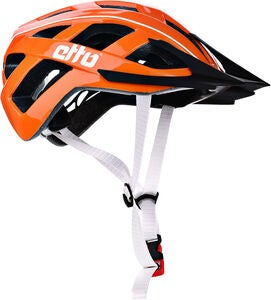 Etto Champery Jr MIPS Fahrradhelm, Orange/White