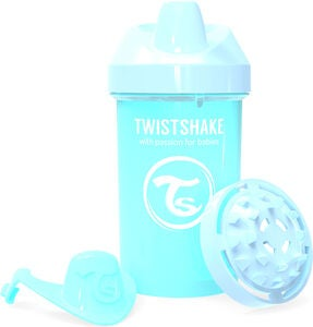 Twistshake Crawler Cup 300 ml, Pastellblau