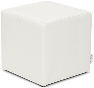 Alice & Fox Hocker Würfel, Creme
