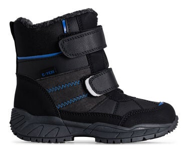 Little Champs Stiefel, Black/Blue