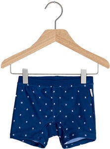 Ebbe Todd Badehose, Mini Boats Dark Navy