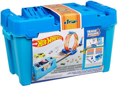 Hot Wheels Track Builder Multi Loop Box Autorennbahn