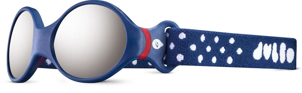 Julbo Loop S Spectron 4 Baby Sonnenbrille, Dark Blue/Red