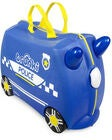 Trunki Percy the Police Car Koffer 18L, Blue