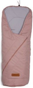 Nordlys Fußsack Light, Blush Pink
