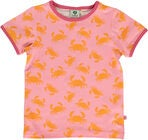 Småfolk Krabbe T-Shirt, Sea Pink