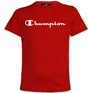 Champion Kids Crewneck T-Shirt, True Red