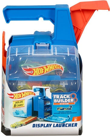 Hot Wheels Autorennbahn Track Builder Display Launcher