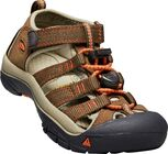 KEEN Newport H2 Little Kids Sandalen, Dark Earth/Spicy Orange