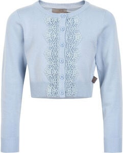 Creamie Lace Strickjacke, Xenon Blue