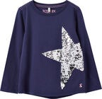 Tom Joule Ava Applique Langarmshirt, Navy Star