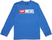 Diesel Tjustdivision Ml T-Shirt, Turkish Sea
