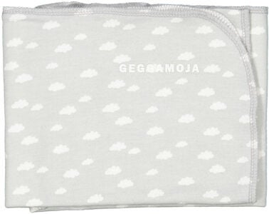 Geggamoja Decke Bamboo Cuddly, Grey Cloud