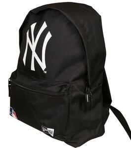 New Era MLB NYY Rucksack 16L, Black/White