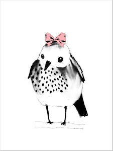 Lilou Lilou Poster Sparrow Bow 30x40