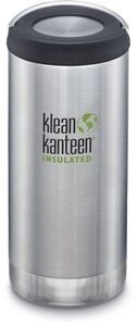 Klean Kanteen TKWide Wide Loop Cap Thermosbecher 946ml, Brushed Stainless