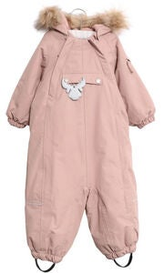 Wheat Nickie Tech Overall, Rose Powder